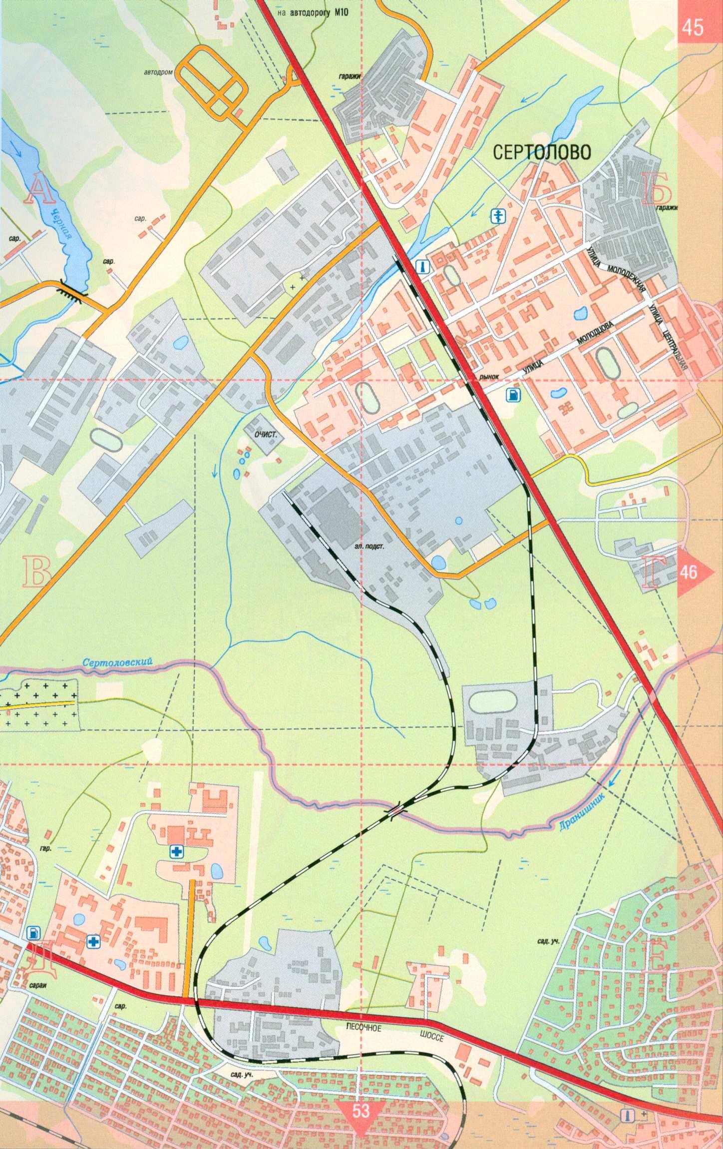 Санкт петербурга подробная карта