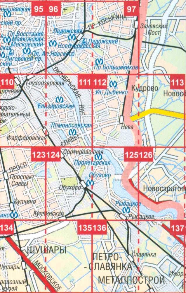 Карта невского района города санкт