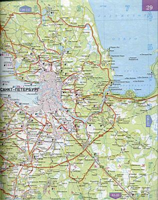 Области подробная карта