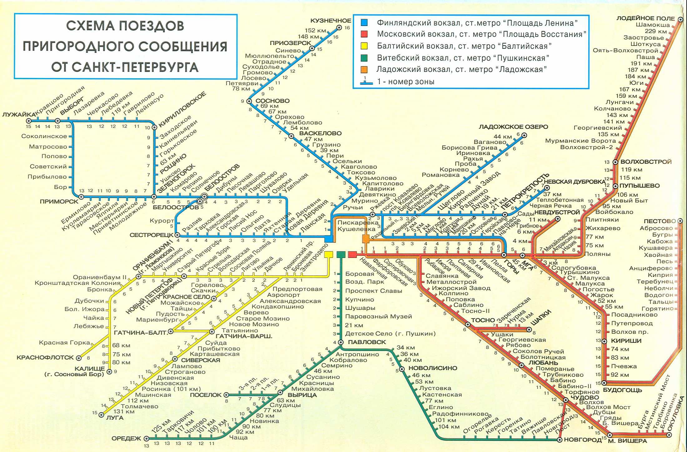 Карта петербурга со схемой движения